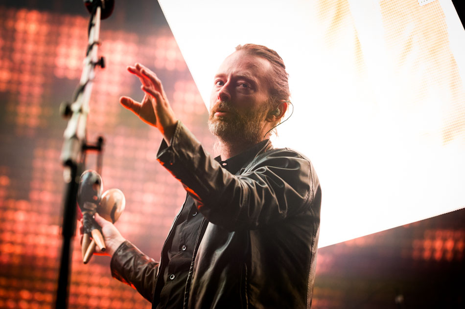 Photo of Thom Yorke &amp; Radiohead in Melbourne by Kate Griffin
