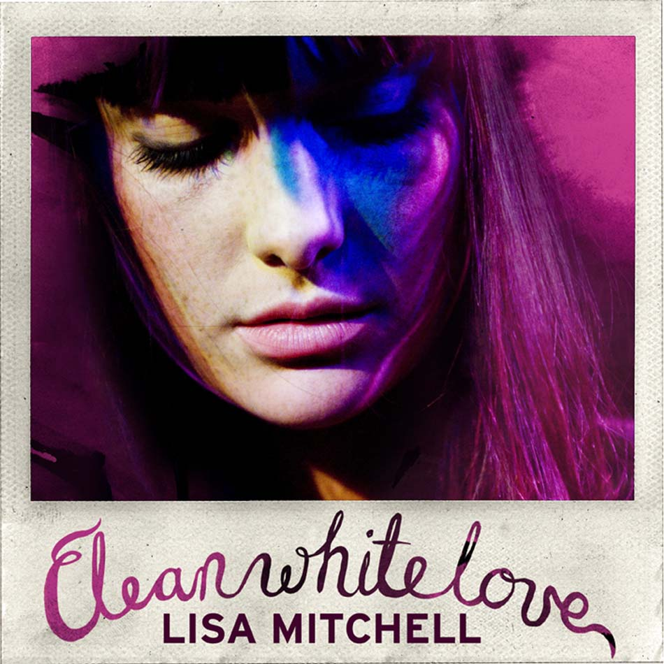 Lisa Mitchell clean white love sing cover photo