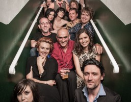 Paul Kelly & the lineup of triple j's Tribute to Paul Kelly show