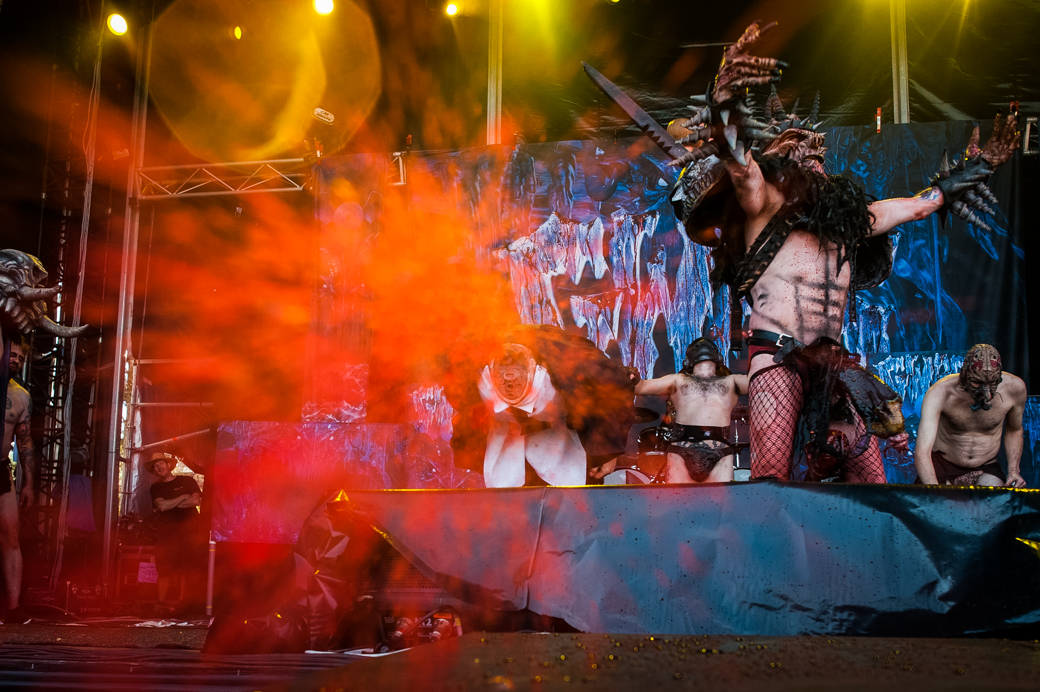 David Brockie and Gwar at Melbourne Soundwave