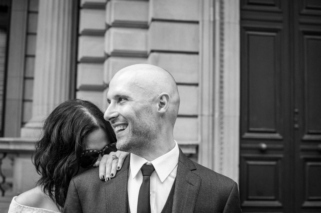 Melbourne Marriage Registry office wedding photo