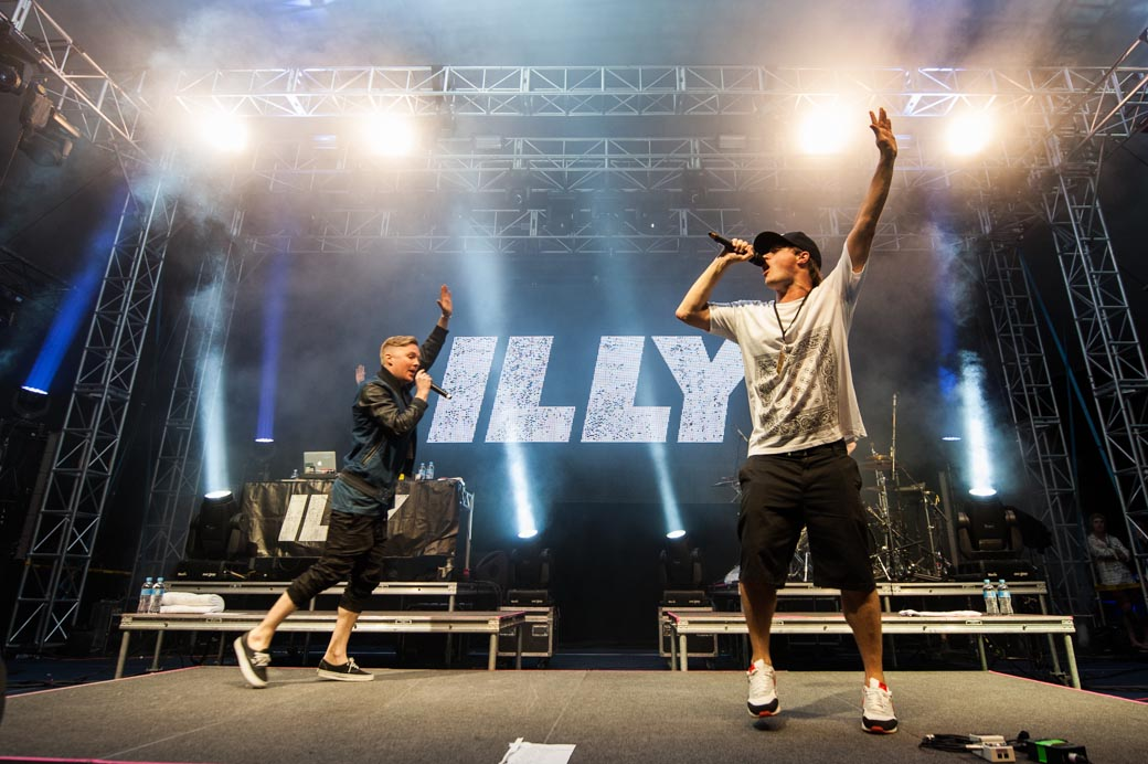 Illy and Drapht