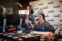 The Double J radio launch