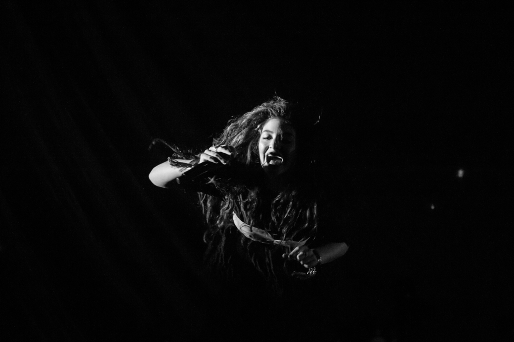 Lorde performs at Festival Hall in Melbourne Australia in July 2014