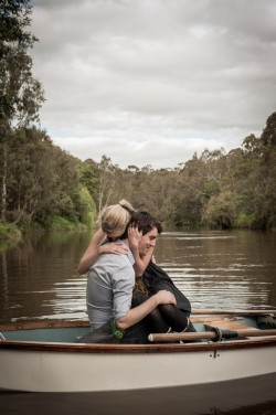 One fine day, a boy rowed his girl down the Yarra…