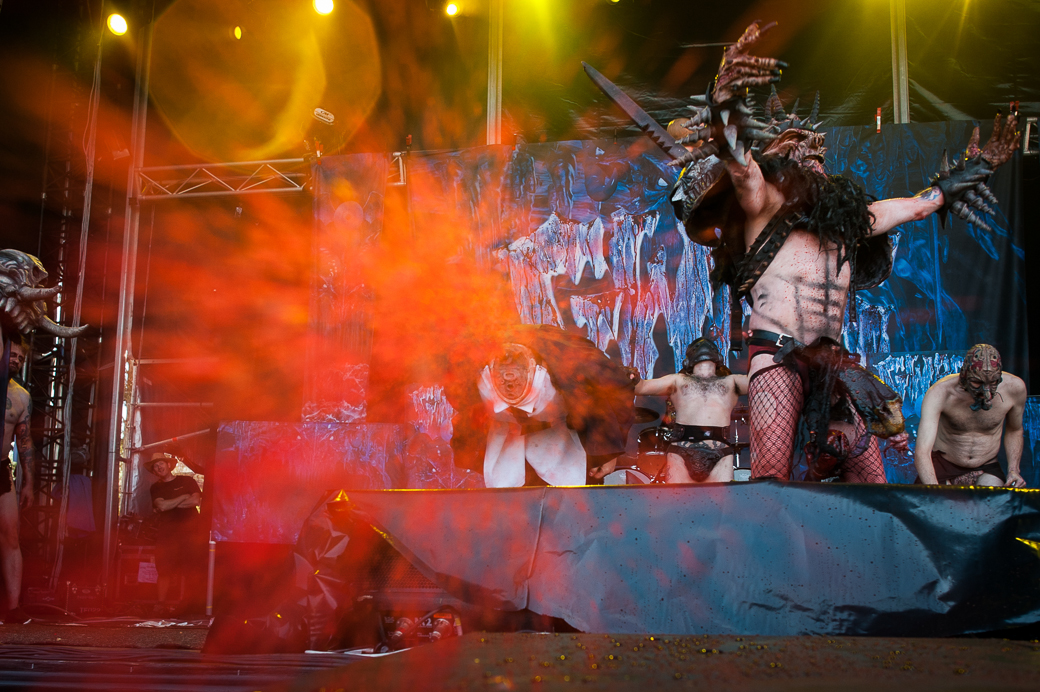 Gwar at Melbourne Soundwave