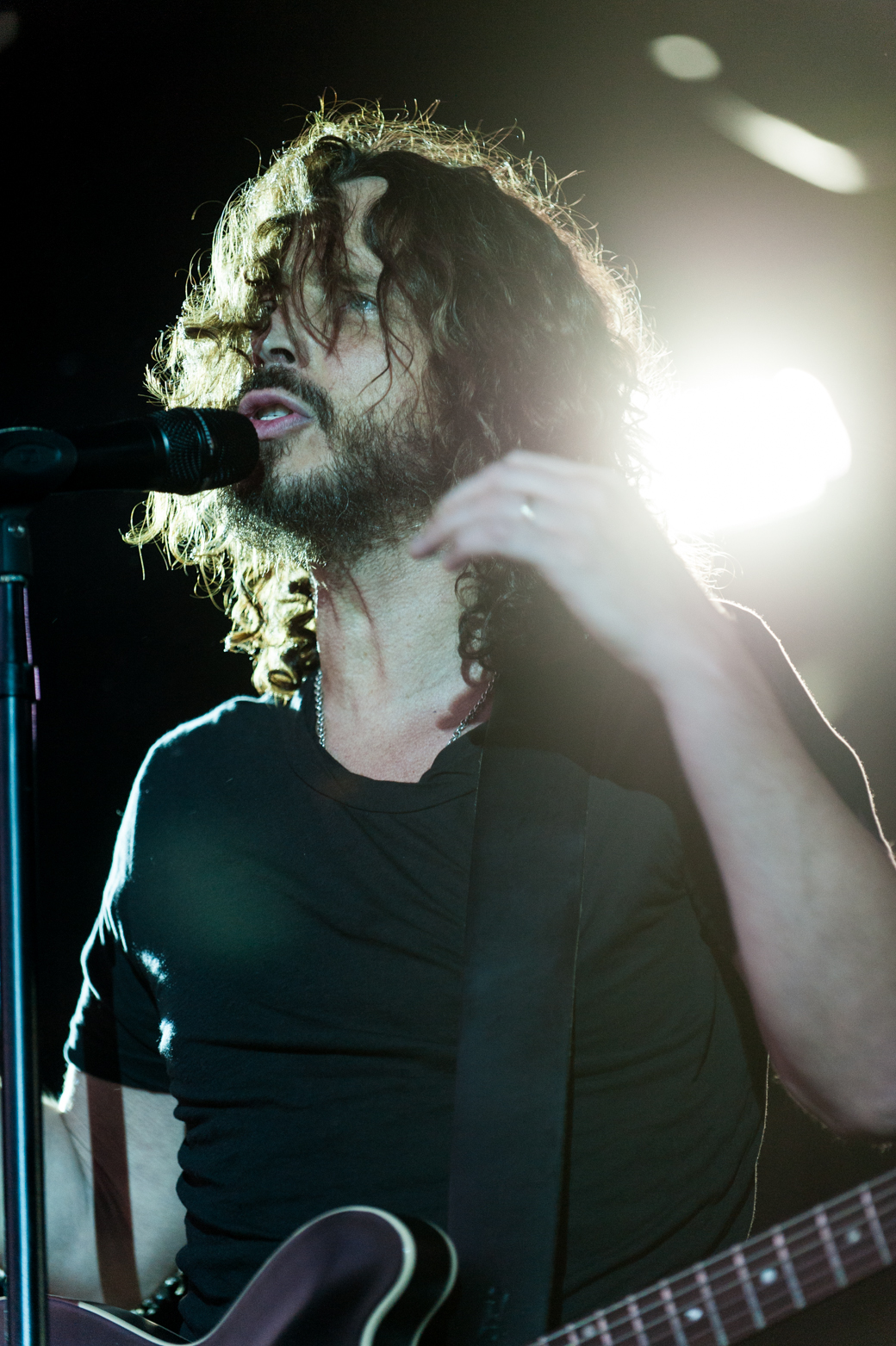 Chris Cornell & Soundgarden performs at Sidney Myer Music Bowl in Melbourne 2012